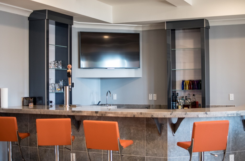 Lake Oconee Contemporary Kitchen